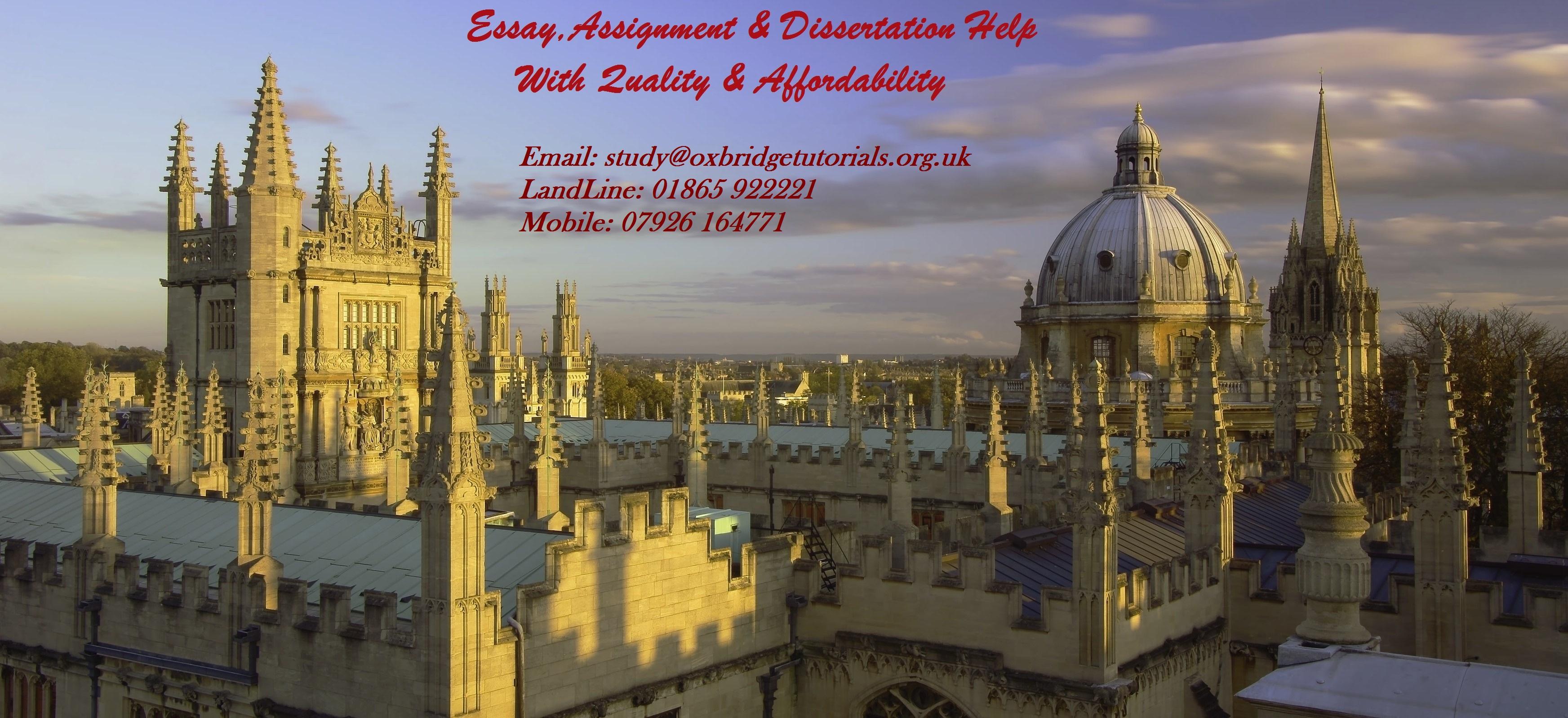 Assignment & Essay Writing Help UK